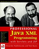 img - for Professional Java XML Programming with servlets and JSP book / textbook / text book