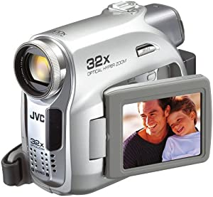 JVC GR-D350 MiniDV Camcorder w/32x Optical Zoom