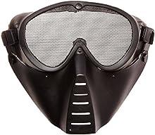 GSG - Máscara Softair con rejilla ocular, color negro, 201561