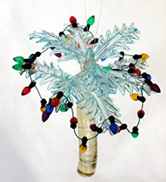 #!Cheap Glass Tropical Palm Tree Christmas Ornament