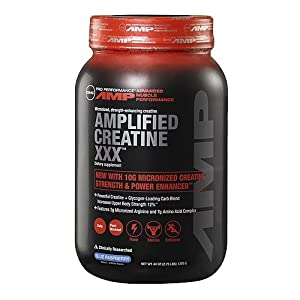 GNC Pro Performance AMP Amplified Creatine XXX, Blue Raspberry, 44 oz