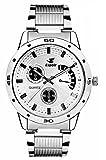 #7: Espoir Analogue White Dial Men's Watch -ES109