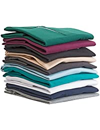 Fabilano 10 Vibrant Colors Poly Cotton Half Sleeves Polo Neck T Shirt With Pocket To Choose From - 2400-grp
