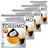 Tassimo Carte Noire Voluptuoso Kenya, Rainforest Alliance Certified, Pack of 4, 4 x 16 T-Discs