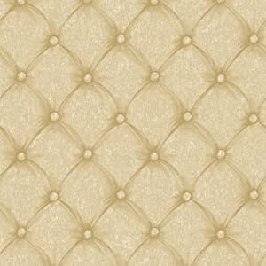 Gold BQ3908 Tufeted Fabric Faux Wallpaper - - Amazon.com
