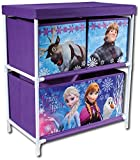 Frozen-Spielzeugregal-Aufbewahrung-Anna-Elsa-Olaf-Kristoff-Sven