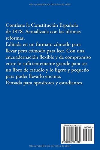 La Constitución Española de 1978: Edición 2016