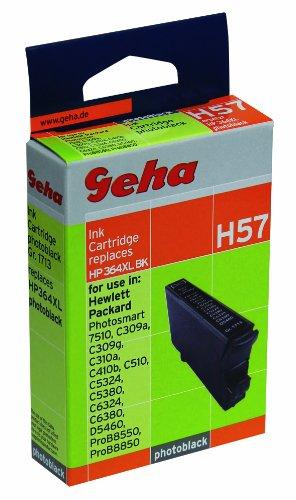 Geha H57 Druckerpatrone ersetzt HP364XL, 13 ml, foto schwarz