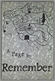 img - for A Page to Remember: A collection of poetry book / textbook / text book