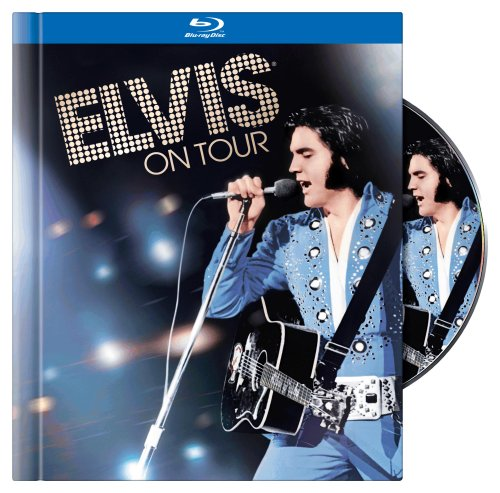 Cover art for  Elvis on Tour (Blu-ray Book)