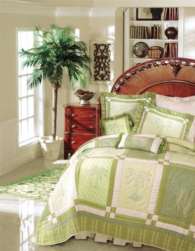 Palm Tree Bedding 5499 front