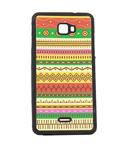 Exclusive Premium Rubberised Back Case Cover For Micromax Canvas Nitro A311 - Multicolor Craft Design 6