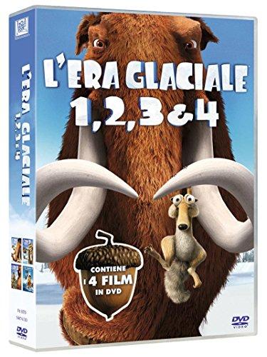 L'Era Glaciale Quadrilogia (Cofanetto 4 DVD)