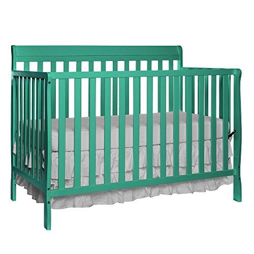 Dream On Me Alissa Convertible 4-in-1 Crib, Emerald