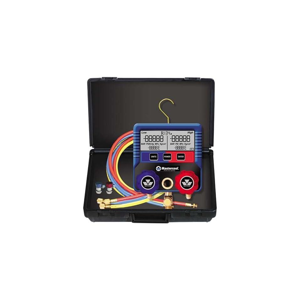 Mastercool 99872 Digital R 134A Manifold Gauge Set