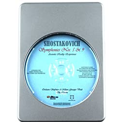 Shostakovich Symphonies Nos. 5 & 9 - 7.1 DTS-HD 3D Sound Blu-ray Audio Signature Series
