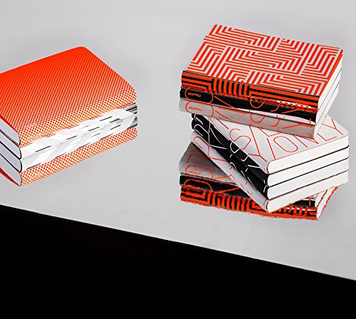 "nuuna Design Notizbuch Graphic ""S Smooth Bonded Leather Everything Starts From A Dot"" Softcover, Punktraster"
