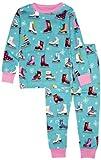 Hatley Little Girls'  Pajama Set-Figure Skates