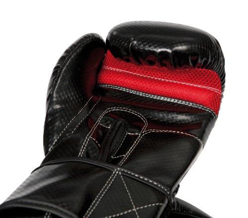 Hammer Boxhandschuhe X-Shock, Schwarz/Rot, 14 OZ, 95314 -