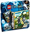 Lego Legends of Chima - Speedorz - 70109 - Jeu de Construction - Le Tourbillon Infernal