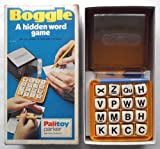 BOGGLE - VINTAGE PARKER GAME FROM 1976