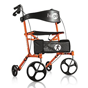 Hugo mobility sidekick side folding rollator for Mobility walker