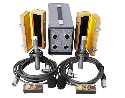 Telefunken Ela M 260 Stereo Set | Small Diaphragm Tube Condenser Microphone For Acoustic And Classical Recording (Stereo Set)