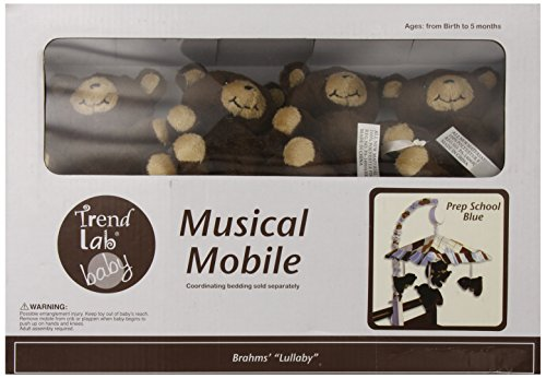 Trend Lab Prep School Musical Mobile, Blue (Discontinued by Manufacturer)