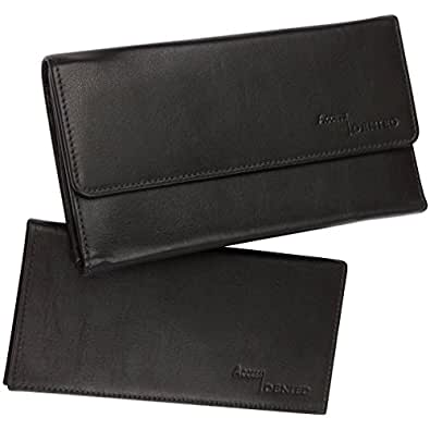 Amazon.com: Access Denied RFID Blocking Womens Leather Wallet and RFID