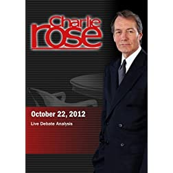 Charlie Rose - Live Debate Analysisg (October 22, 2012)