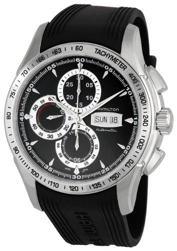 Para hombre Hamilton H32816331 Señor de los Hamilton negro y fecha reloj cronógrafo de hombre