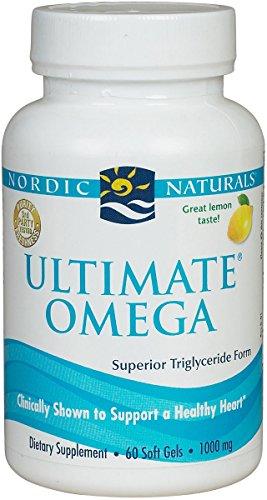 Ultimate Omega Softgel-Lemon - Nordic Naturals - 60 - Softgel