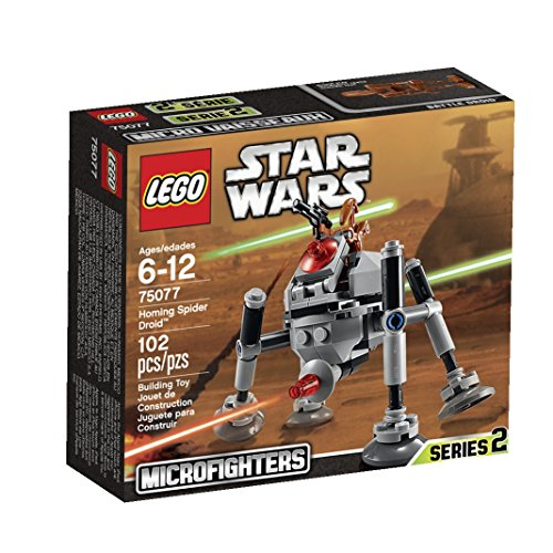 New LEGO Star Homing Spider Droid