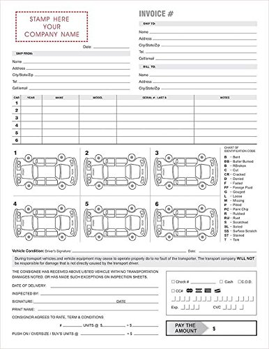 Vehicle Repair Order Forms (100/Pack) | New Luxury Deals