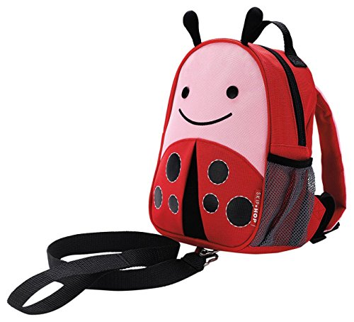 Skip Hop Toddler Leash and Harness Backpack, Zoo Collection, Ladybug