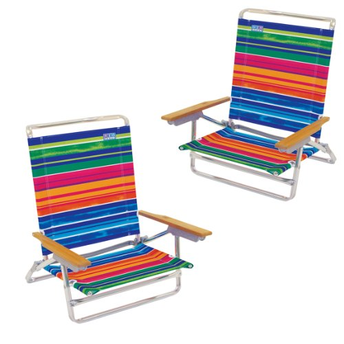 Buy Best Price High Back Rio Beach Chair 5 position