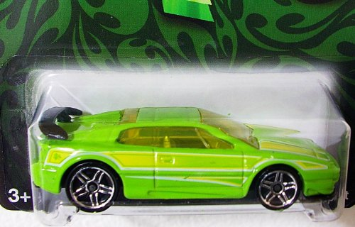 Hot Wheels 2009 Clover Cars Lotus Esprit Wal-mart Exclusive 1:64 Scale - 1