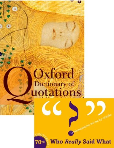 Oxford Dictionary Of Quotations - Elizabeth Knowles