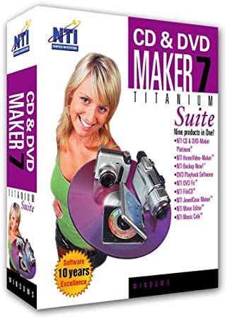 CD & DVD Maker Titanium Suite 7