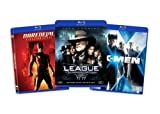 Blu-ray Comic Book Hero Bundle (Daredevil (Directors Cut) / League of Extraordinary Gentlemen / X-Men) (Amazon.com Exclusive)