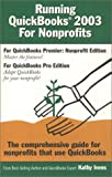 img - for Running QuickBooks 2003 for Nonprofits book / textbook / text book