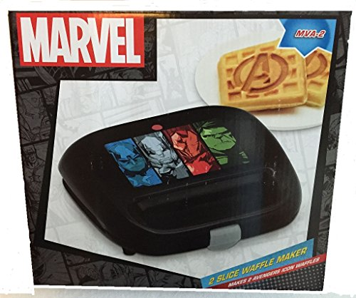 Check Out This Marvel Avengers 2 Slice Waffle Maker