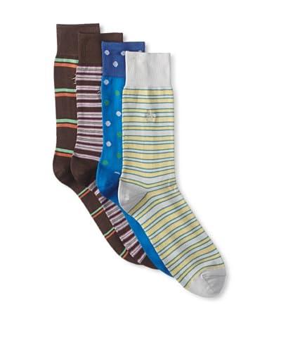 Original Penguin Men's Multi-Patterned Socks - 4 Pack
