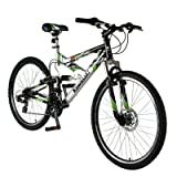 Kawasaki DX226FS 26-Inch Dual Suspension Mountain Bike