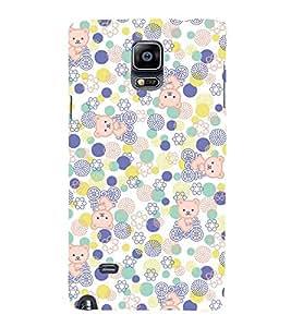 Cute Kitty Cycle Cute Fashion 3D Hard Polycarbonate Designer Back Case Cover for Samsung Galaxy Note Edge :: Samsung Galaxy Note Edge N915FY N915A N915T N915K/N915L/N915S N915G N915D