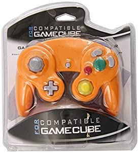 Generic Orange Spice Controller Pad for Gamecube and Wii