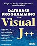img - for Database Programming With Visual J++ book / textbook / text book