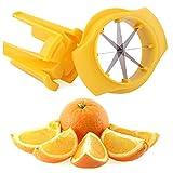 Stainless steel Lemon Lime Slicer Wedger Cutter - Fruit Food Drinks Tea Garnish Tool