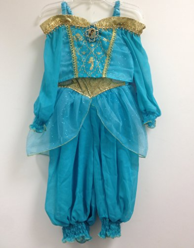 Authentic Disney Princess Jasmine Aladdin Genie Halloween Costume Size XXS 2/3