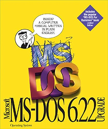 MS-DOS 6.22 Upgrade License Pack 1-Node No-Doc No Media [Old Version]